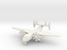 1/285 C-2A(R) Greyhound 3d printed