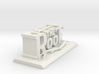 The Root - Desk Sculpture  3d printed