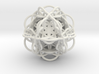 3d Flower of Life with 8 Seeds: Sacred Geometry 3d printed