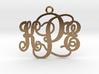 KPE Monogram Necklace 3d printed