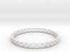 Bracelet heart  3d printed