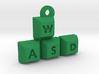 WASD Keychain / Pendant 3d printed