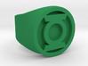 Green Lantern Ring (SIZE 9.5) 3d printed
