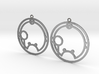 Shauna - Earrings - Series 1 3d printed