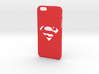 Iphone 6 supeerman case 3d printed