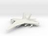 1/285 (6mm) F-18 Super -w/Conform Tanks w/ord-1 3d printed