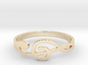 Size 7 G-Clef Ring  3d printed