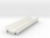 N Modern Concrete Bridge Deck Single Track 140mm 3d printed