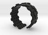 Honeycomb geometric bracelet 3d printed