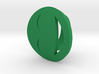 Smile/laughing Ring Size 7, 17.3 mm 3d printed