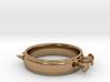 Nailed Wedding Ring - Size 7 3d printed