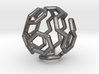 Buckyball Cycle Pendant 3d printed