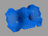 """Explicit surface """"Space wormholes"""" 3d printed"""