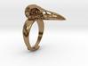 Crow Ring - adjustable 3d printed