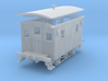 S Scale 1/64 Ulster and Delaware bobber caboose 12 3d printed