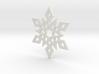 Snowflake Pendant 2 3d printed