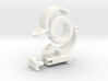 """Spherical Bearing Riflescope Mount with 1"""" Ring 3d printed"""