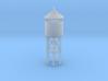 Miniature Railway Water Tower (HO Scale) 3d printed