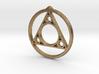 Encapsulated Sivoa Logo Pendant 3d printed