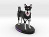 Custom Dog Figurine - Houdini 3d printed