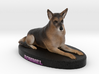 Custom Dog Figurine - Rommel 3d printed