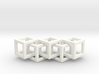 Wire Cube Necklace 5 3d printed