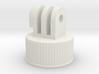 GoPro Bottle Cap Mount 3d printed