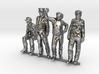 HO Pack of 4 figures 3d printed