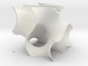 Gyriod Cube 3d printed