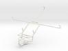 Controller mount for PS4 & Motorola XOOM MZ604 3d printed