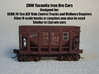 CNW Ore Car Four Pack, N Scale 3d printed