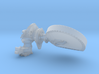 Mars Rover HGA  1:10 3d printed