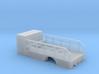 1/64th S Scale Tire Service Truck Single axle Body 3d printed