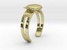 Kuma-san (Bear) Ring 3d printed