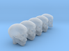 Undead, 5x Skull Conversion Kit (28mm Figures) 1 3d printed
