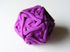 'Twined' Dice D20 MTG Spindown Life Counter Die 32 3d printed The spindown die straight from the printer