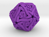 'Twined' Dice D20 MTG Spindown Life Counter Die 32 3d printed