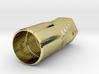 Silver AAA Torch 2 Head (Flashlight) 3d printed