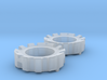 1/64 Wheel Weights Outer (2 Pieces) 3d printed