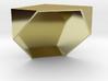 half a cube 3d printed