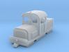 Industrial diesel model shunter H0e/H0n30 3d printed Narrow gauge industrial diesel shunter H0e/H0n30