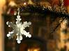 Snowflake ornament - v.02 3d printed