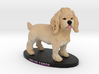 Custom Dog Figurine - Chloe 3d printed