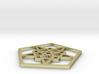 Pentagon Pentacles - 2 inch 3d printed