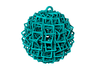 Cube Ball Ornament 1.2 (Christmas edition) 3d printed