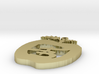 New thick PB apple Pendant 3d printed