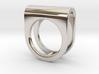 SADDLE RING - SIZE 7 3d printed