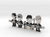 Beatles iotacons (Ed Sullivan Show) 3d printed