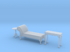 1:48 Queen Anne Chaise Set 3d printed