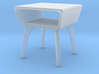 1:48 Moderne Angled Side Table 3d printed